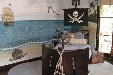recámara-piratas-niños
