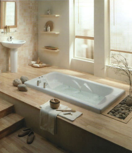 Fotos de ba os zen for Zen inspired bathroom design