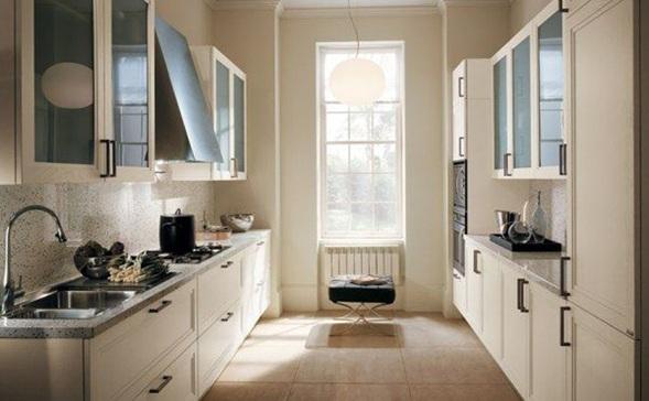 cocinas en colores neutros On muebles de cocina de pared color beige