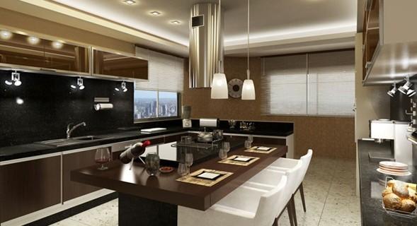 cocina-color-marrón
