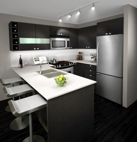 cocina-color-marrón-foto