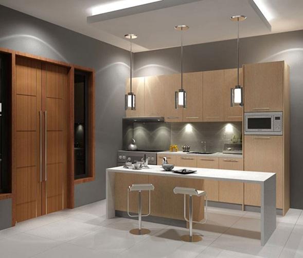 Cocinas en colores neutros for Colores de cocina