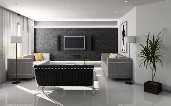Decorar salas con papel tapiz