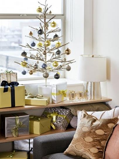 15 rboles peque os de navidad ideales para apartamentos for Arbol de navidad pequeno