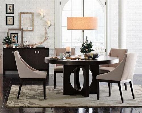 10 magn ficas fotos de comedores con mesas redondas - Mesas de comedor redondas ikea ...