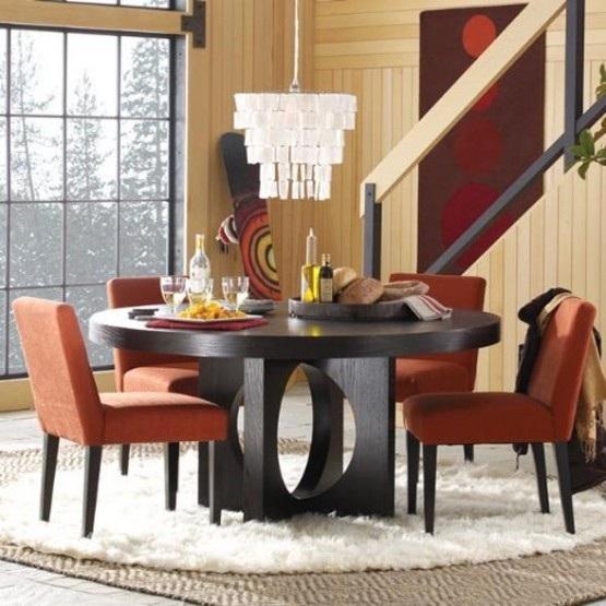 10 magn ficas fotos de comedores con mesas redondas for Mesas redondas para comedor