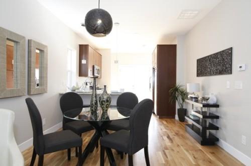 10 magn ficas fotos de comedores con mesas redondas - Salon comedor con mesa redonda ...