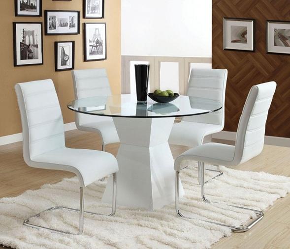 10 magn ficas fotos de comedores con mesas redondas for Antecomedores modernos pequea os
