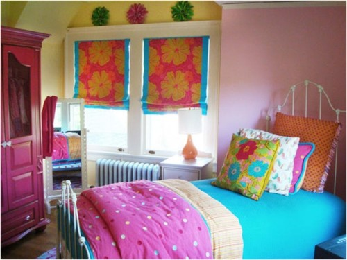 dormitorio-con-flores-adolescente