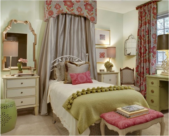 26 dise os de dormitorios para chicas adolescentes for Disenos de cuartos