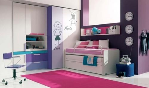 dormitorio-juvenil-lila-rosa