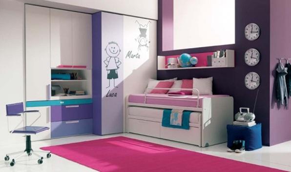 26 dise os de dormitorios para chicas adolescentes for Disenos de roperos para dormitorios pequenos