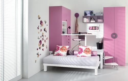 dormitorio-pequeño-rosa
