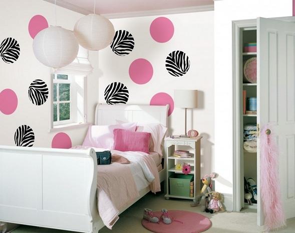 13 dormitorios rosa para adolescentes for Dormitorio rosa y blanco