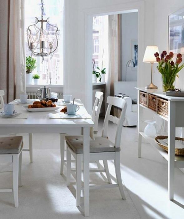 15 estupendos dise os de comedores peque os - Mesas para comedores pequenos ...