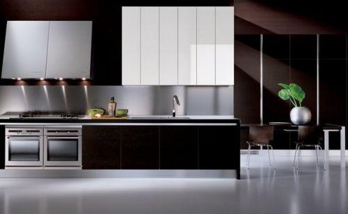 Hermosas cocinas en acero inoxidable for Cocinas de acero inoxidable para casa