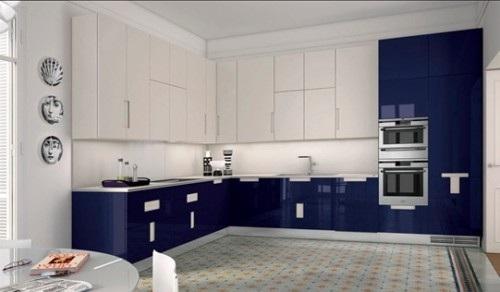 Cocinas con muebles laminados for Cucine piccole ad angolo moderne