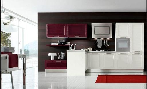 Cocinas con muebles laminados - Materiales muebles cocina ...