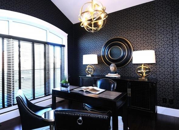 15 fotos de oficinas en casa for Oficinas elegantes y modernas
