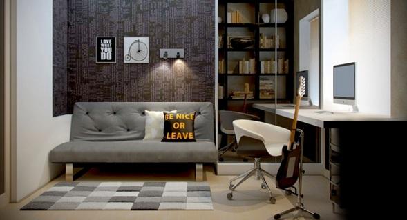 15 fotos de oficinas en casa for Decoracion de oficinas juveniles