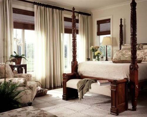 Decorar dormitorios de madera estilo cl sico for Trineo madera decoracion