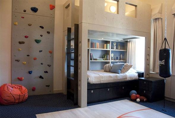 Fotos de cuartos para ni os varones for Dormitorios pequenos para ninos