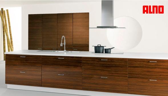 Cocinas con muebles laminados - Pintar muebles laminados ...