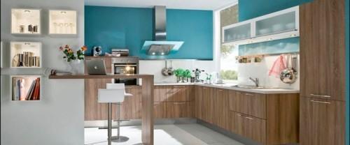 Cocinas con muebles laminados for Muebles de cocina pequena modernos