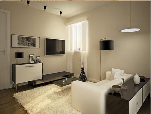 Remodelar tu sala pequeña con bajo presupuesto