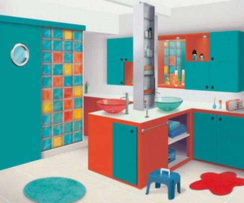 cute kids bathroom ideas 12 fotos de ba 241 os en colores vivos 17101