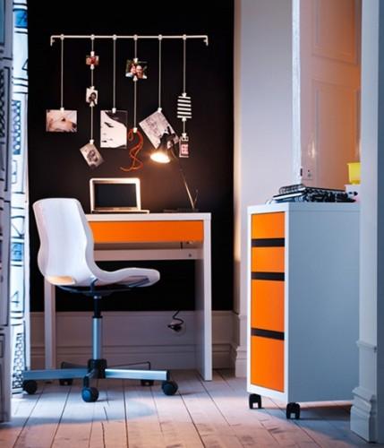 decorar-oficina-naranja