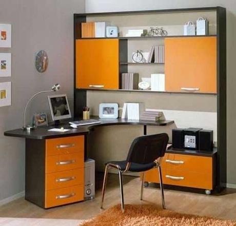 diseño-oficina-naranja