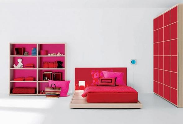 Dormitorios en color fucsia for Cuartos de ninas fucsia