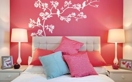 dormitorio-pared-fucsia