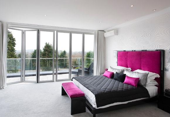 Dormitorios en color fucsia for Alcobas juveniles modernas
