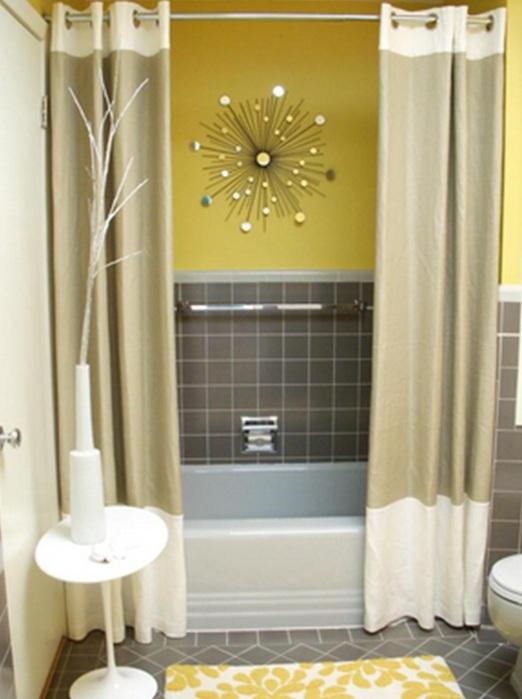 Decorar Baño Color Amarillo:16 Magníficos Baños en Color Amarillo