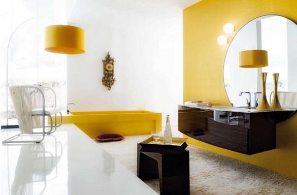 Baños Amarillos Pequenos:16 Magníficos Baños en Color Amarillo