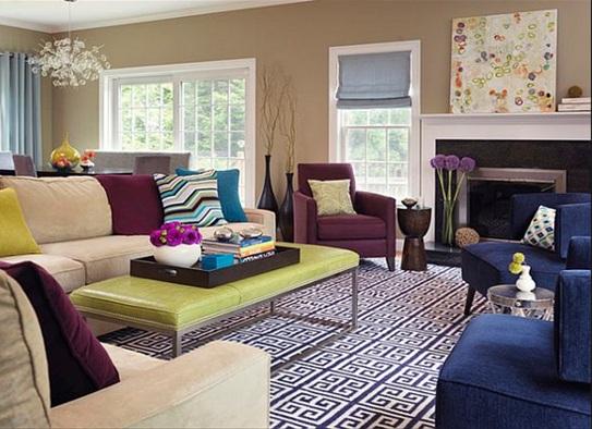 10 salas decoradas color beige
