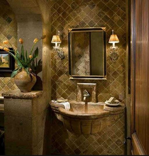 Baños Diseno Clasico:Elegantes Diseños de Baños Estilo Clásico