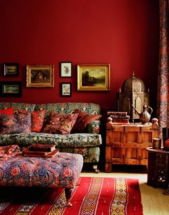 10 fascinantes salas estilo bohemio