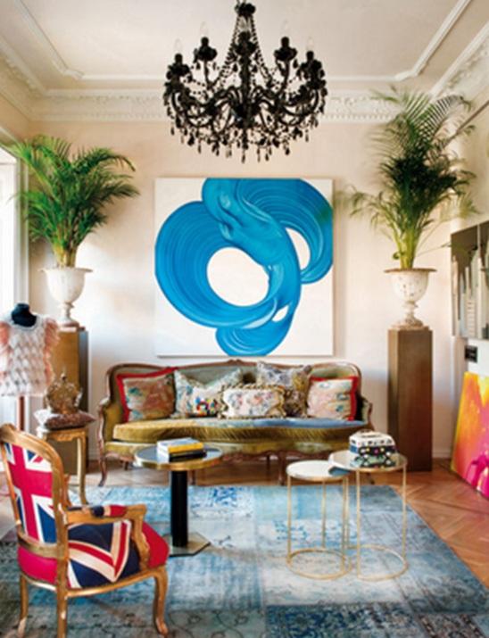 10 fascinantes salas estilo bohemio. Black Bedroom Furniture Sets. Home Design Ideas