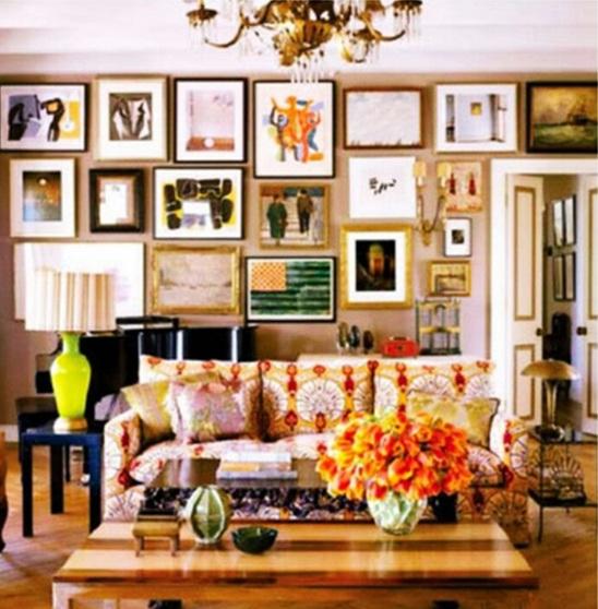 10 fascinantes salas estilo bohemio Quirky home decorating ideas