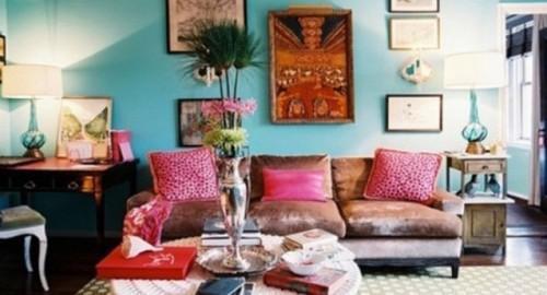 10 fascinantes salas estilo bohemio for Decoracion bohemia vintage