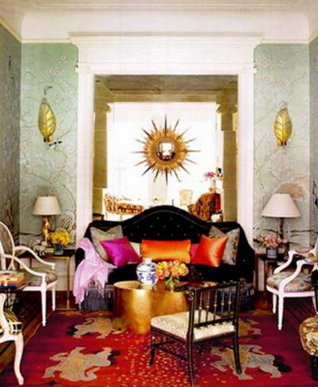 10 fascinantes salas estilo bohemio - Inspiring decorate room ideas and tips for better interior ...