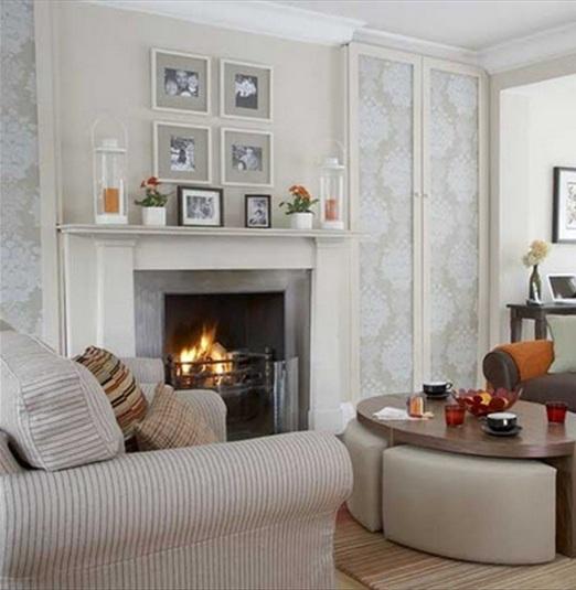 15 hermosas salas con chimeneas - Chimeneas decoradas ...