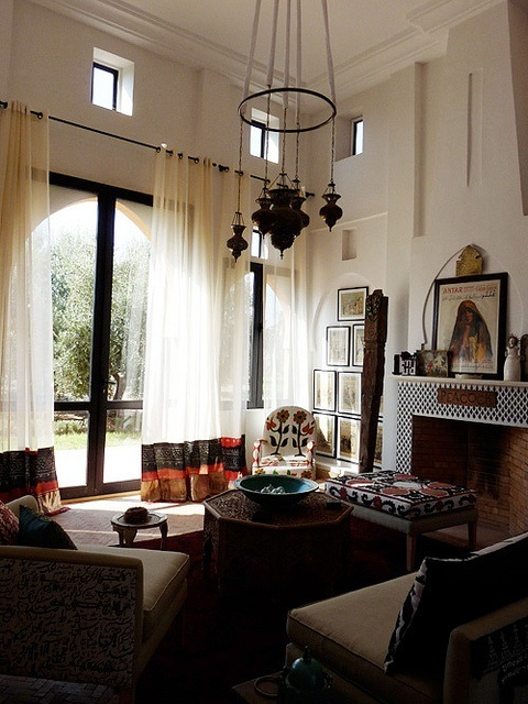 10 maravillosas salas estilo marroqu for Mobiliario marroqui