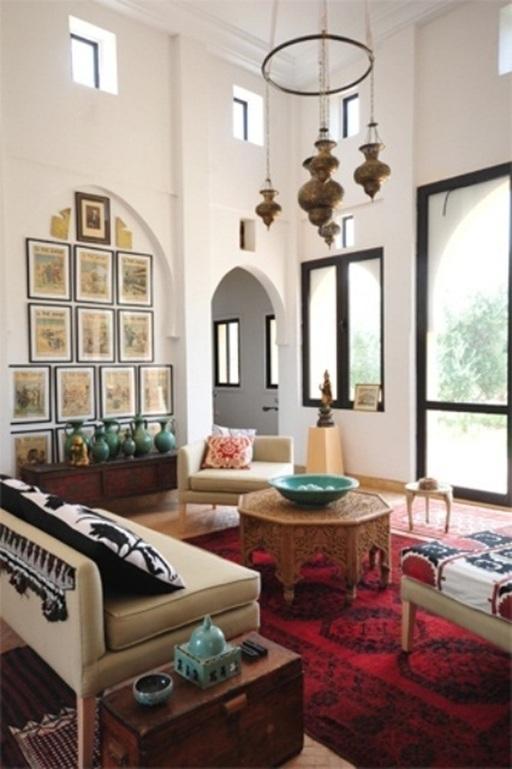 Baños Estilo Marroqui:cautivador estilo marroquí en estos modelos de salas Un estilo
