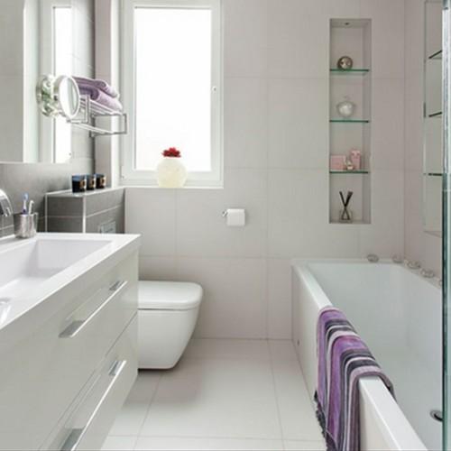 15 Ba Os Modernos Color Blanco