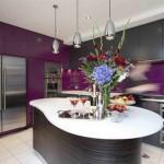 Cocinas en Color Púrpura Morado