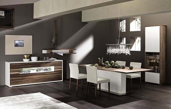 10 comedores modernos para decorar tu casa for Comedor moderno pequea o